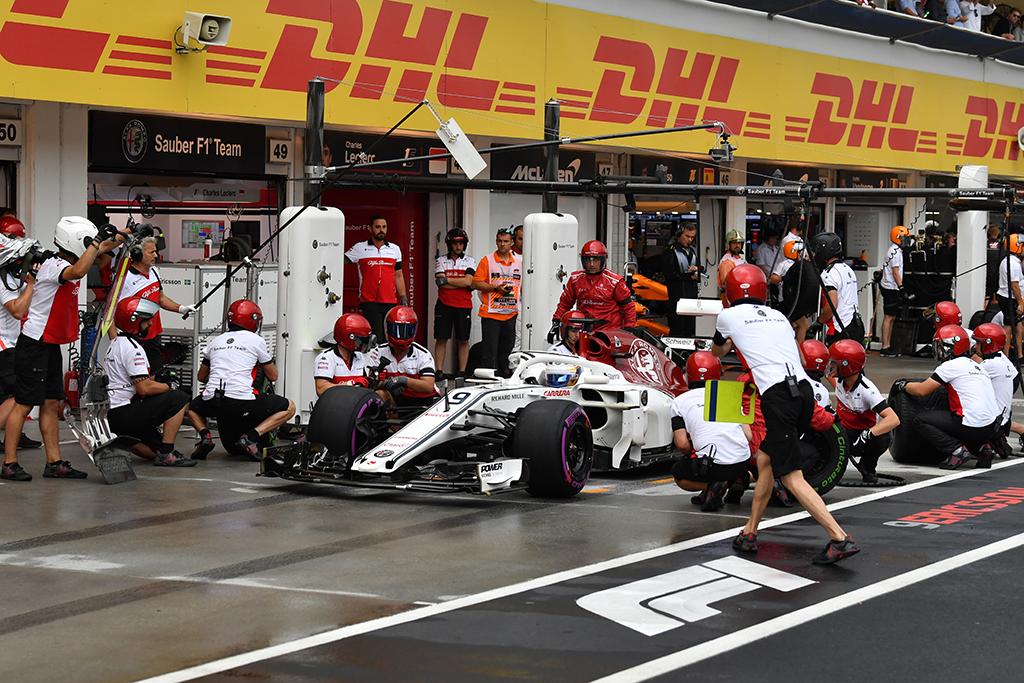 Dro For Cars Dro4cars Alfa Romeo Sauber F1 Team About Fp At 2018 Formula One Hungarian Grand Prix