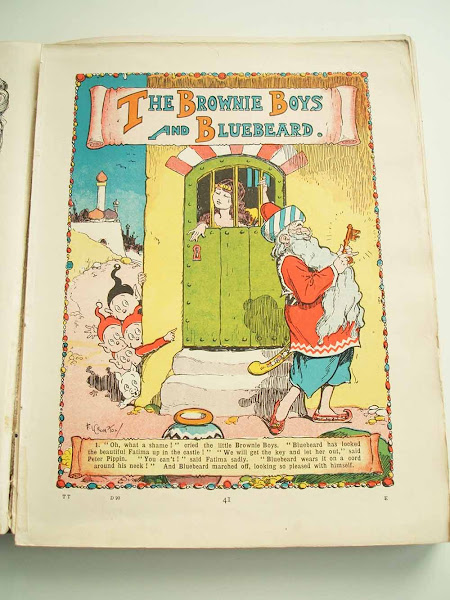 brownie boys, tiger tim, annual, 1924, gift, christmas, festive, tradition