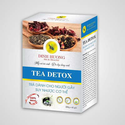 Sản phẩm trà tăng cân Đinh Hương