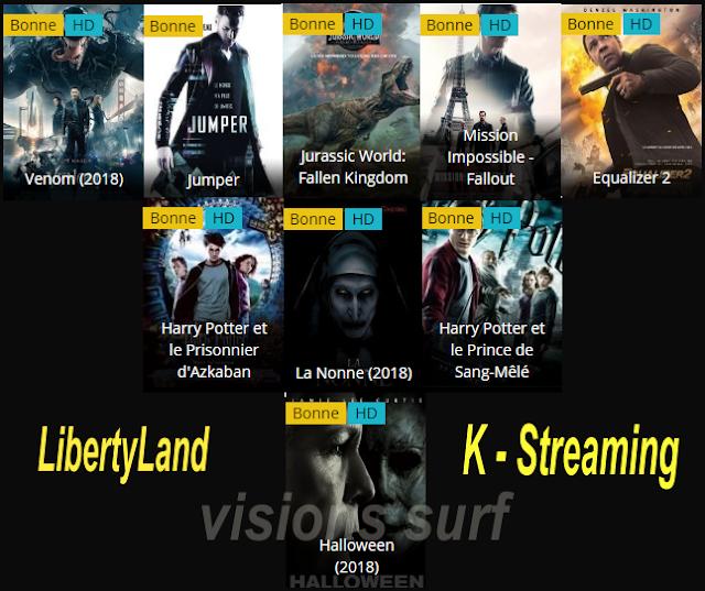 libertyland et k-streaming en 2019