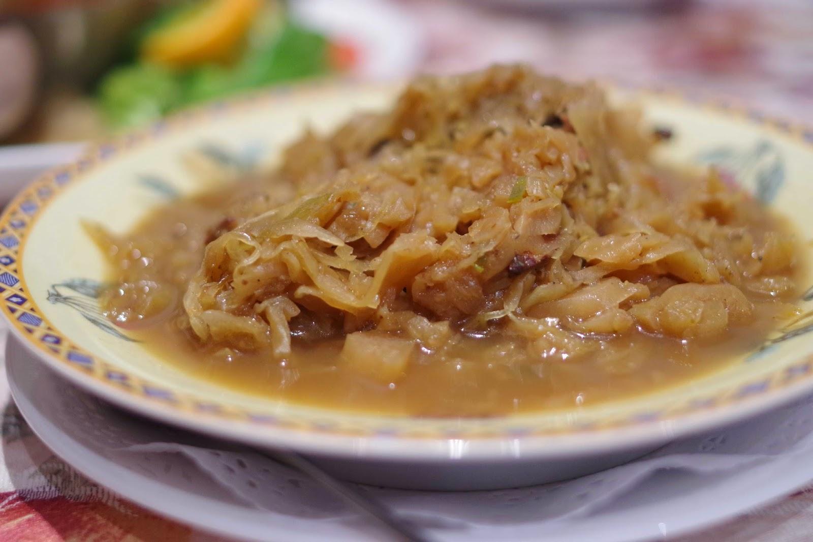 Bigos (Sauerkraut Stew)