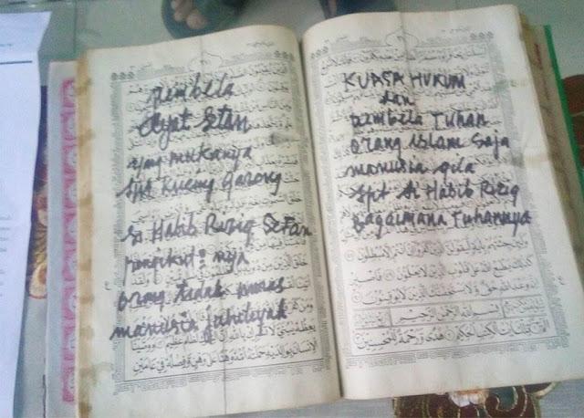 Hina Allah, Rasulullah Dan Al Qur'an, Pembuat Gambar Di Kitab Suci Umat Islam Ini Bikin Geram