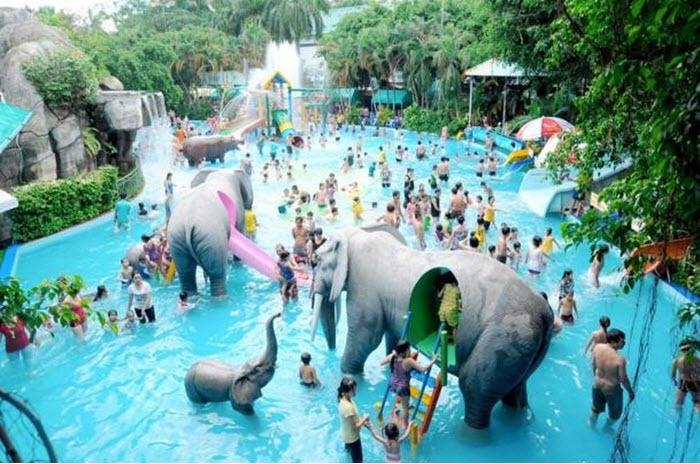5 công viên nước tránh nóng cho người dân Sài Gòn
