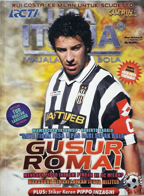MAJALAH LIGA ITALIA: GUSUR ROMA!