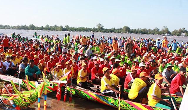 Khai mạc lễ hội Óoc Om Bóc lần thứ XII tại Kiên Giang