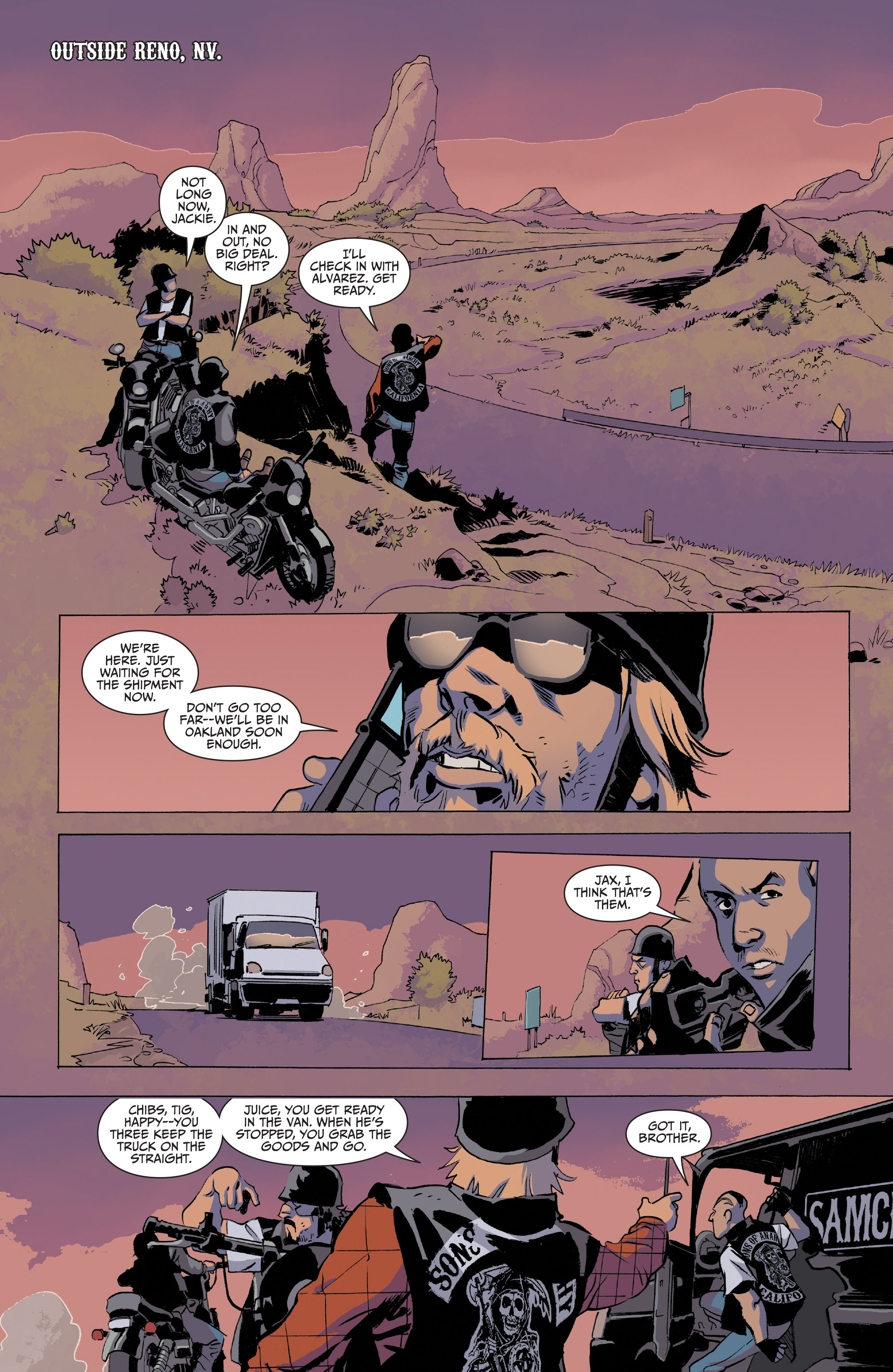Read online Sons of Anarchy comic -  Issue #20 - 13