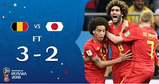 Belgia vs Jepang 3-2 Video Gol Highlights - Piala Dunia 2018