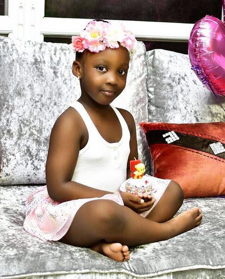 Timaya's daughter - sensational kid