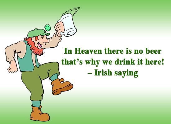 St Patricks Day Sayings in Irish