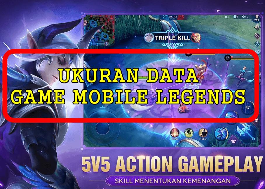 Ukuran Data Game Mobile Legend