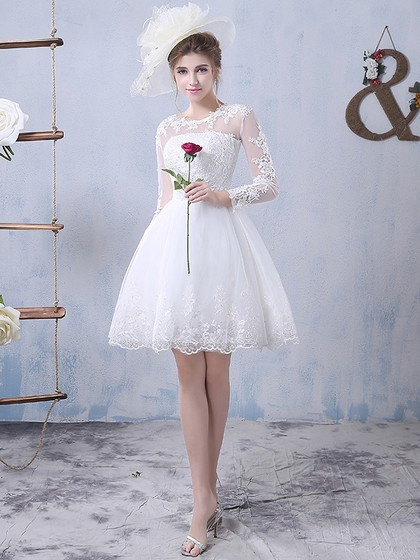 http://www.dressfashion.co.uk/product/a-line-scoop-neck-tulle-appliques-lace-short-mini-long-sleeve-pretty-wedding-dresses-ukm00022759-18227.html
