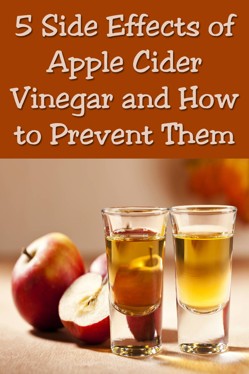 5 Side Effects of Apple Cider Vinegar and How to Prevent Them