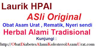 Obat asam urat dan rematik alami Laurik asli herbal tradisional