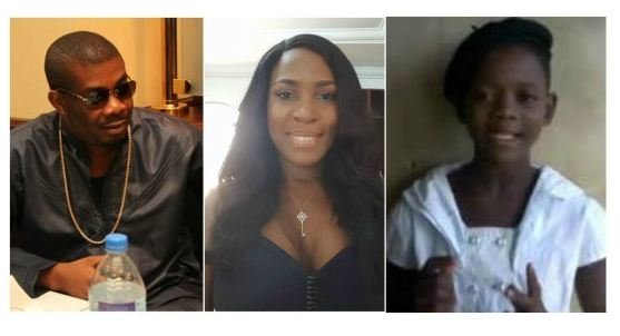 Video: Little Girl Begs Linda Ikeji to Accept Don Jazzy's Proposal [Must Watch]