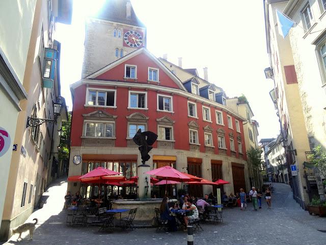 Neumarkt Grimmenturm Zurich