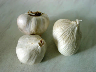 garlic can vanish acne, blackheads and stain of a wound
