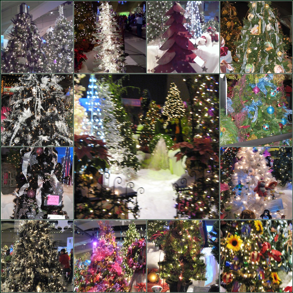 Commercial Christmas Trees From 12 To 100 In Height: LIVING THE GARDENING LIFE: How To Decorate A Christmas