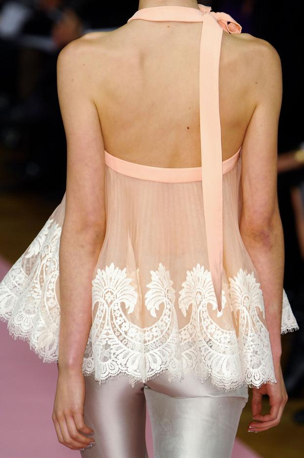 Cool Chic Style Fashion Runway Alexis Mabille Haute Couture Spring 2013 Details