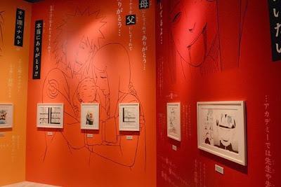 Manga Naruto Shippuden Exhibition