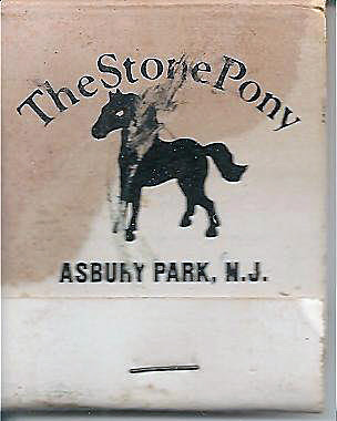 Stone Pony matchbook