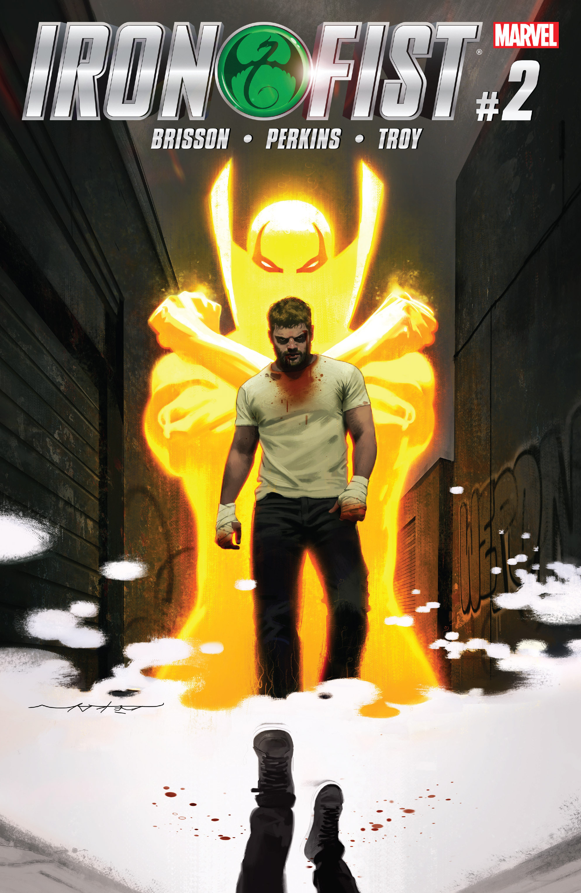 Read online Iron Fist (2017) comic -  Issue #2 - 1