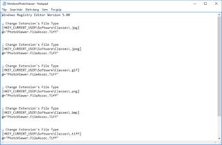 Tích hợp trình xem ảnh Windows Photo Viewer vào memu open with trong Windows 10
