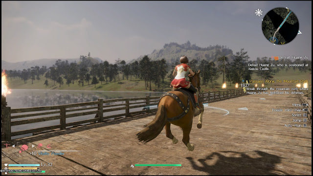 Open world Dynasty Warriors game