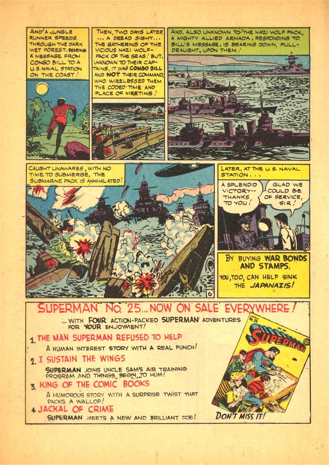 Read online Action Comics (1938) comic -  Issue #66 - 35