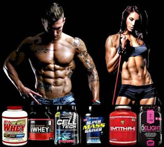 Los polvos de proteínas te ayudan a ganar buena masa muscular
