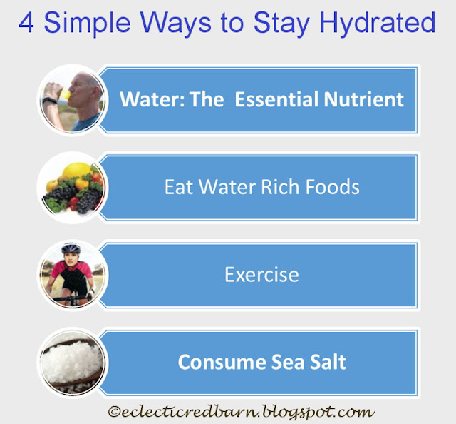Eclectic Red Barn: 4 Ways to Stay Hydrated