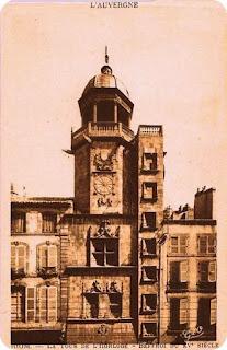 Riom, Puy-de-Dôme, le Beffroi.