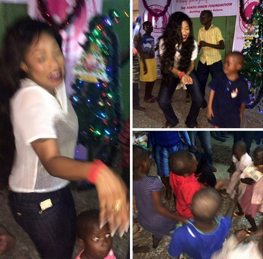Today Viral News Home: The Tonto Dikeh Foundation Has Kicked Off Its Nigerian