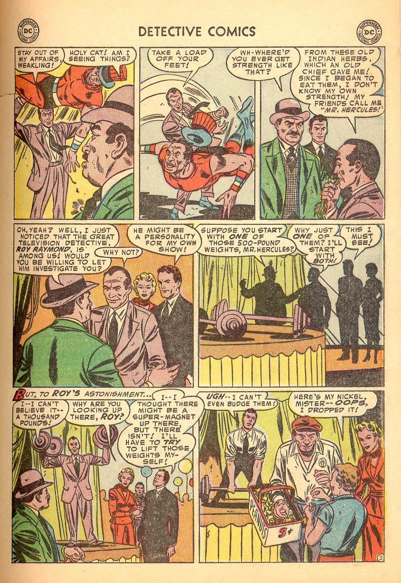 Read online Detective Comics (1937) comic -  Issue #214 - 29