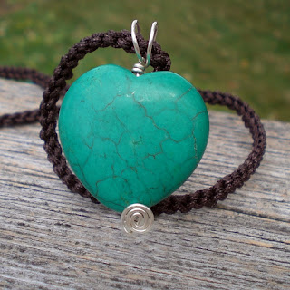 Natural Stone Heart Jewelry