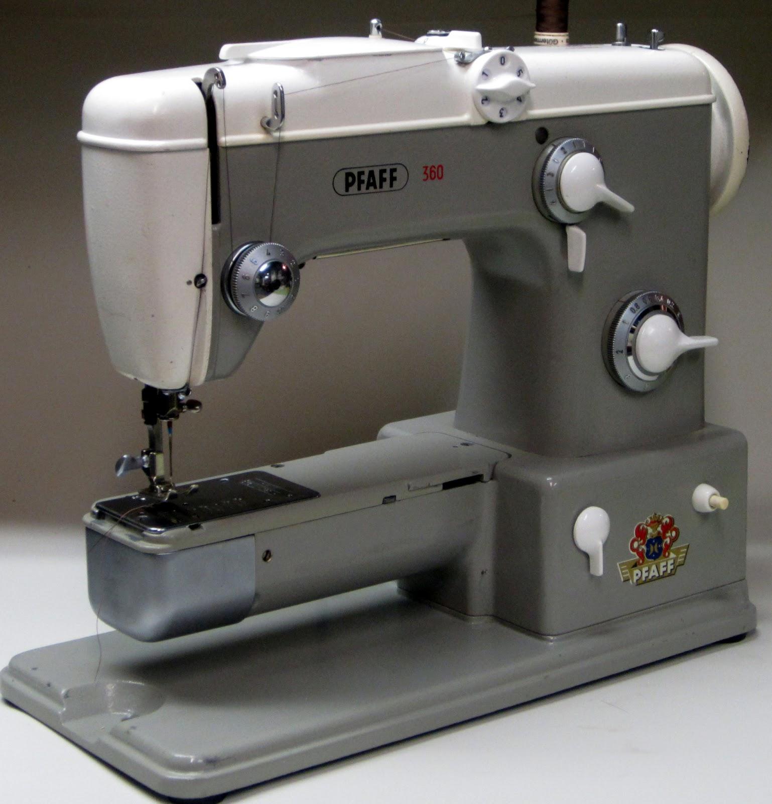 mi vintage sewing machines pfaff 360 1960. Black Bedroom Furniture Sets. Home Design Ideas