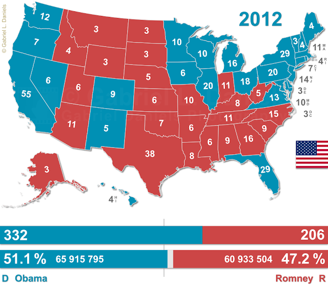United States of America presidential election of 2012