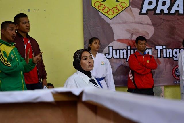 Juri Komite Karate FORKI Aceh di Pra PORA 2017