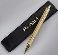 Personalised Pouch & Pen