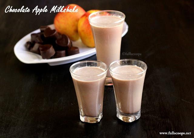 Chocolate Apple Milkshake