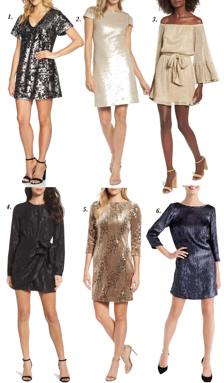 NYE Dresses - Something Delightful Blog