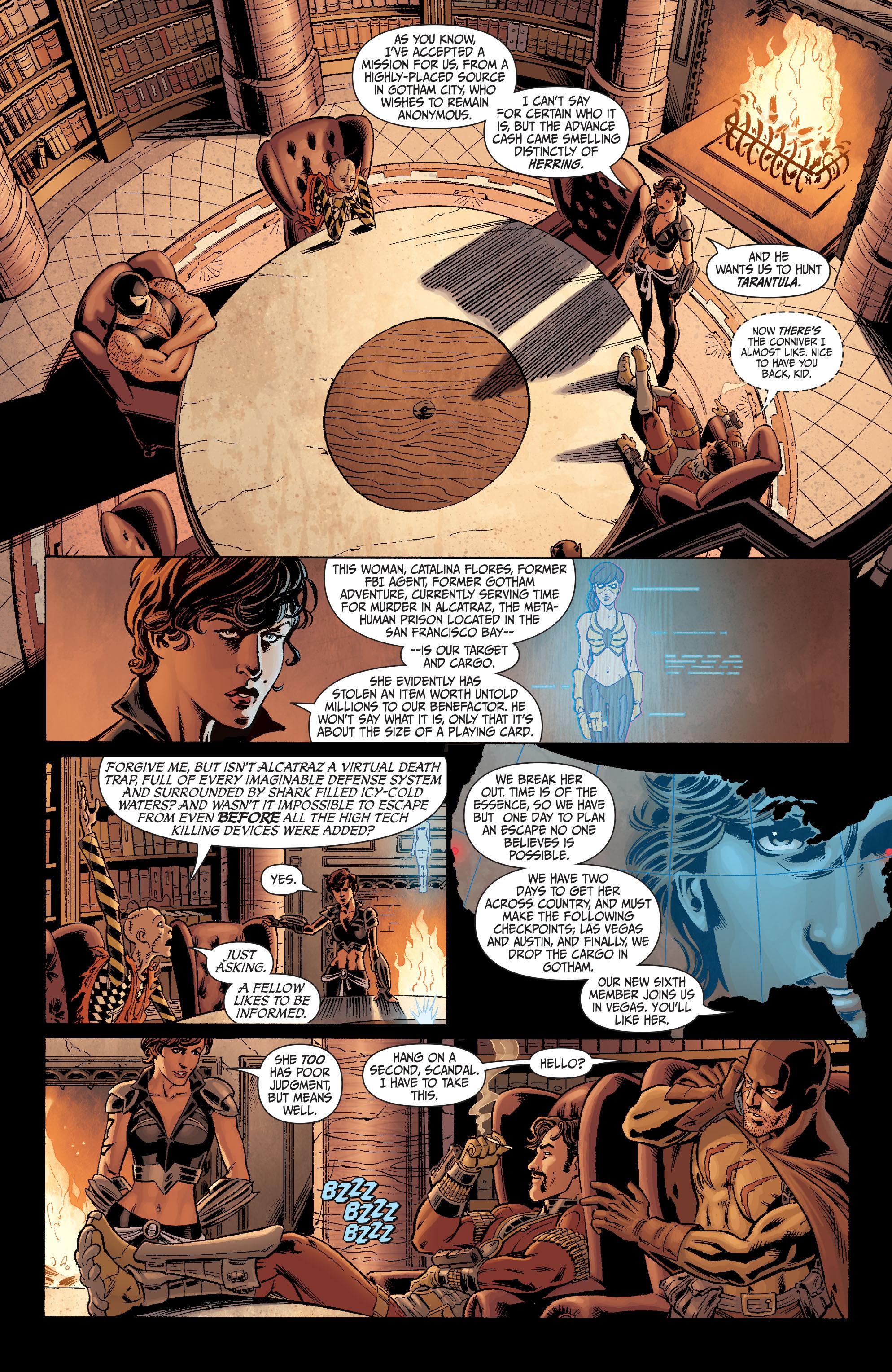 Read online Secret Six (2008) comic -  Issue #1 - 21