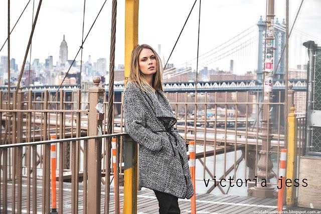 Sacos y tapados otoño invierno 2016 Victoria Jess,