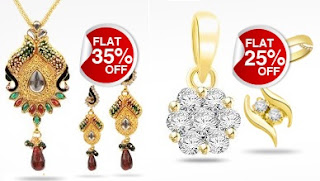 Flat 25% Discount on Gold & Diamond Jewellery (Fine Jewellery) & 35% Discount on Fashion Jewellery @ Homeshop18