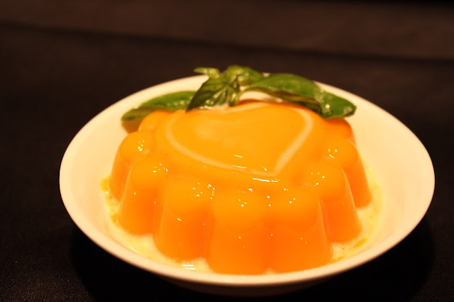 Chilled Mango Pudding
