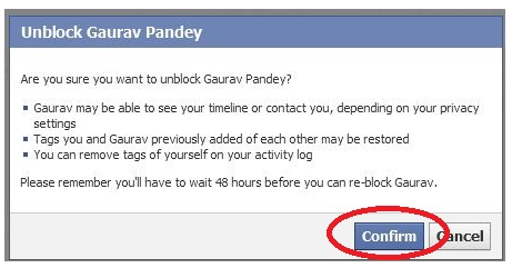 How Can I Unblock Facebook Users Once I Have Blocked Them?