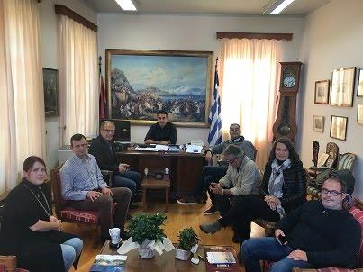 Συνάντηση γνωριμίας με τα νέα μέλη του Εμπορικού Συλλόγου είχε ο  Δημήτρης Κωστούρος