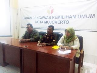 Bawaslu Kota Mojokerto Undang Media Massa Bahas Pengawasan Partisipatif Pemilu