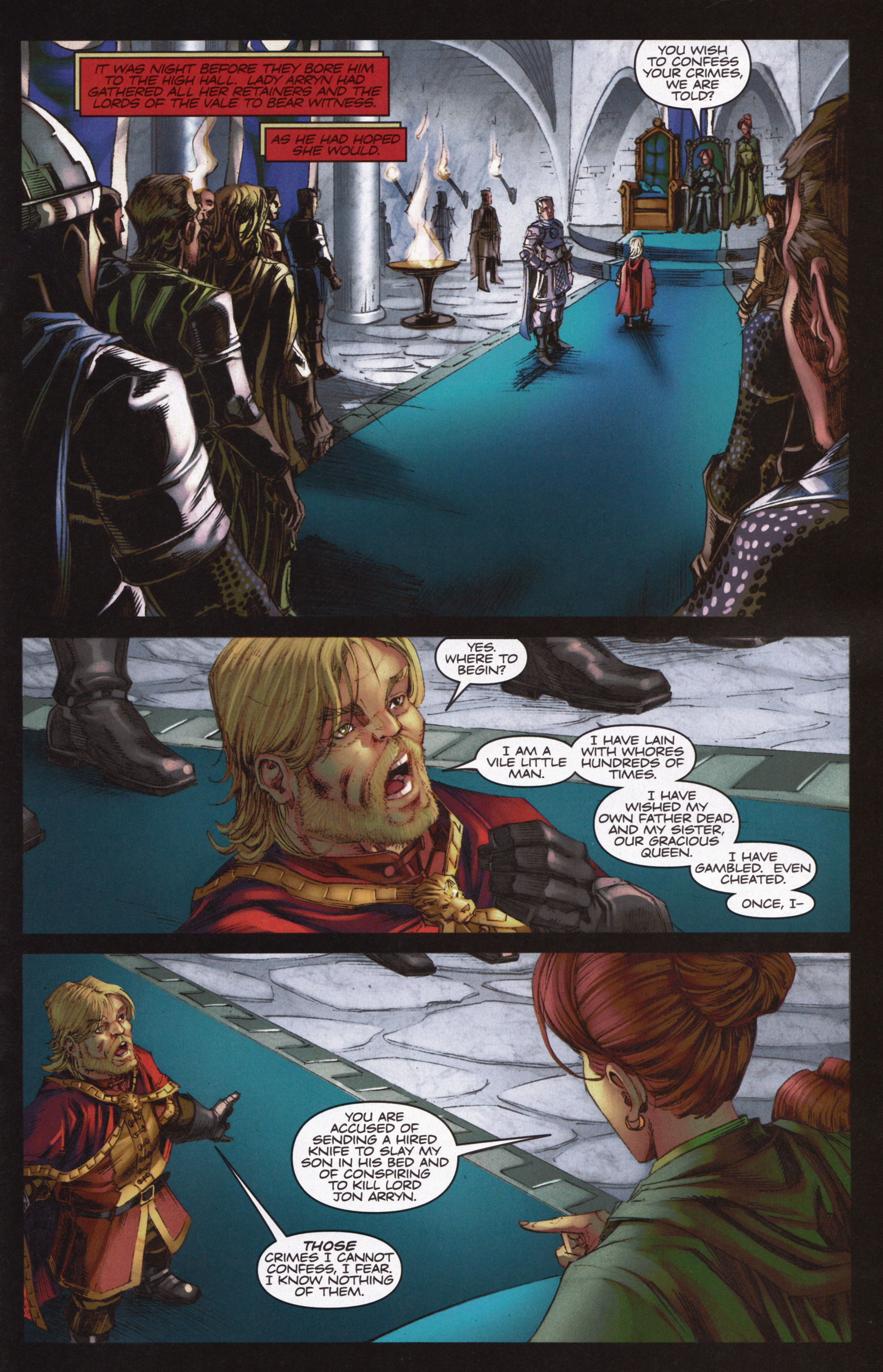 Read online A Game Of Thrones comic -  Issue #12 - 21