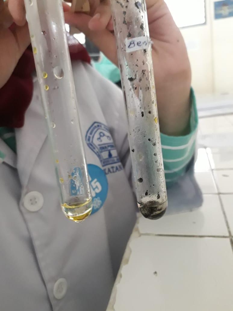 Jenis bahan, monograf bhs indonesia,bhs indonesia. LAPORAN PERCOBAAN 4. Reaksi-Reaksi Hidrokarbon