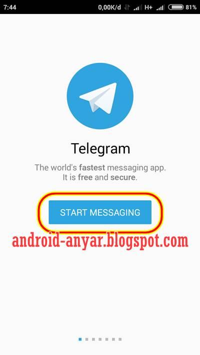 Cara Daftar dan Membuat Akun Telegram di Android Terbaru Lengkap